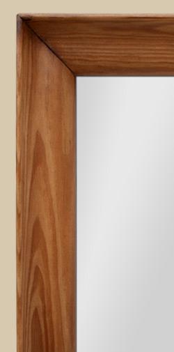 miroir ancien en bois profil ann es 50. Black Bedroom Furniture Sets. Home Design Ideas