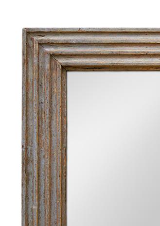 miroir poque louis xvi bois sculpt gris trianon. Black Bedroom Furniture Sets. Home Design Ideas