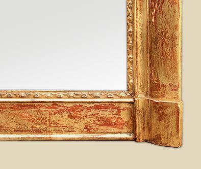 Miroir de chemin e style louis xvi pictures to pin on - Miroir ancien bois dore ...