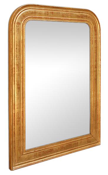 miroir style louis philippe dor d cors grav s patin s. Black Bedroom Furniture Sets. Home Design Ideas
