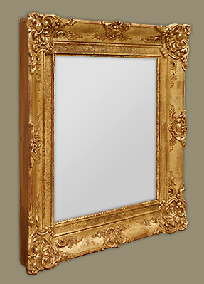 Glace miroir ancien poque restauration for Restauration miroir ancien