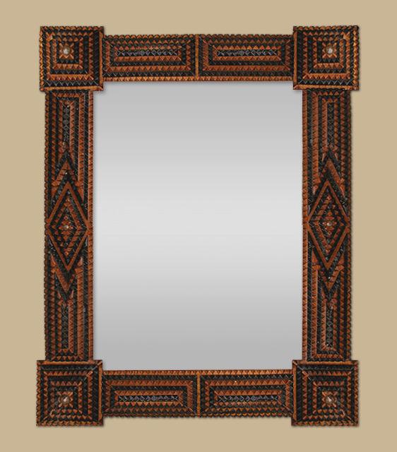 petit miroir ancien style oriental. Black Bedroom Furniture Sets. Home Design Ideas