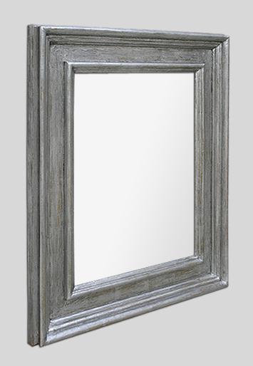 grand miroir argent renaissance italienne couleur acier. Black Bedroom Furniture Sets. Home Design Ideas