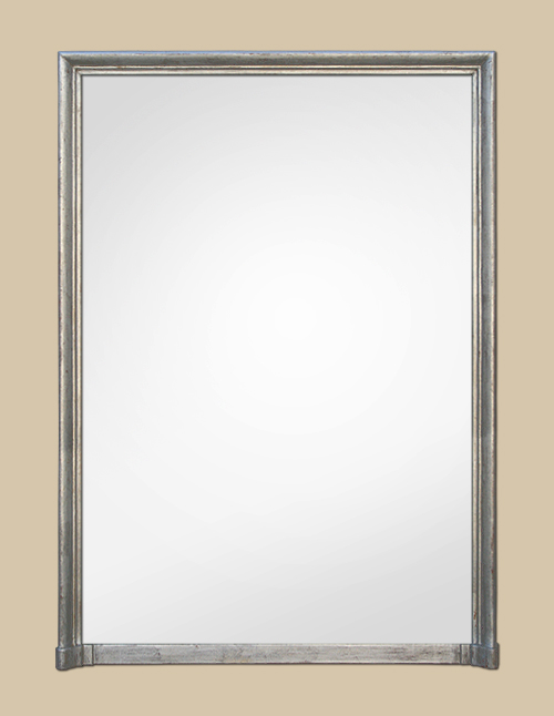 Miroir Cheminee Of Grand Miroir Chemin E Argent Patin
