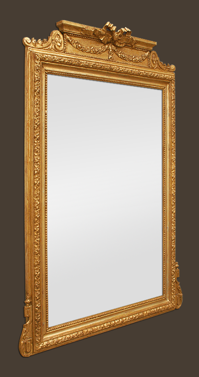 Grand miroir chemin e dor naopl on iii fronton for Composition miroir
