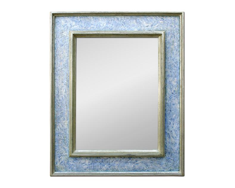Grand miroir renaissance italienne cassetta for Grand miroir gris