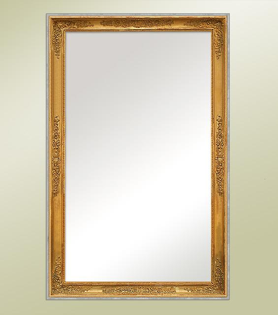 Miroir ancien empire for Restauration miroir ancien