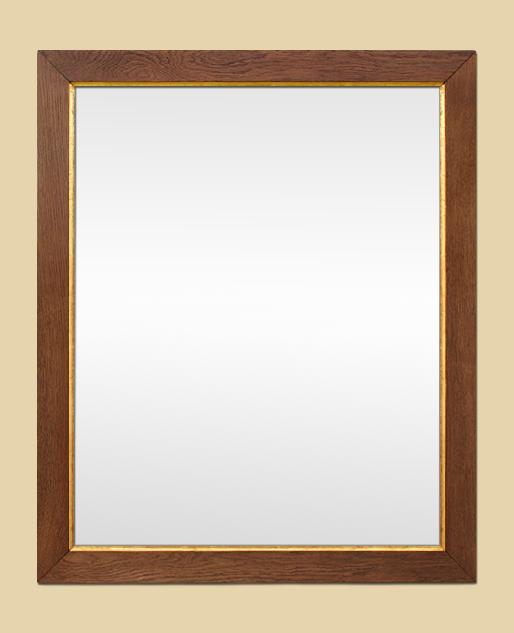 Miroir bois clair for Miroir bois brut
