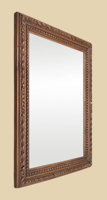 miroir bois sculpt miroir ch ne massif sculpte. Black Bedroom Furniture Sets. Home Design Ideas