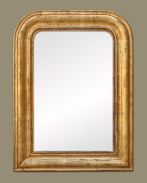 miroir louis philippe bois dor