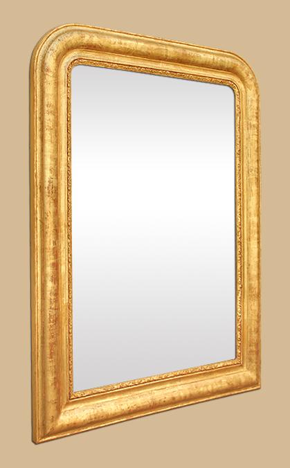 miroir dor patin style louis philippe ancien. Black Bedroom Furniture Sets. Home Design Ideas