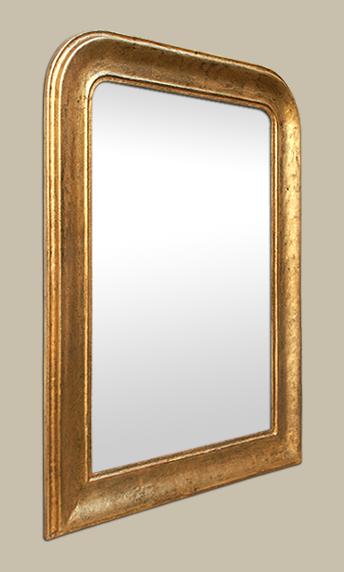 miroir louis philippe dor patin. Black Bedroom Furniture Sets. Home Design Ideas