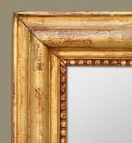 Miroir ancien d 39 poque louis philippe for Miroir louis xiv