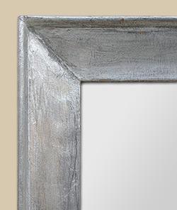 Glace miroir moderne glace miroir ancien bois dor stuc d for Miroir argent ikea