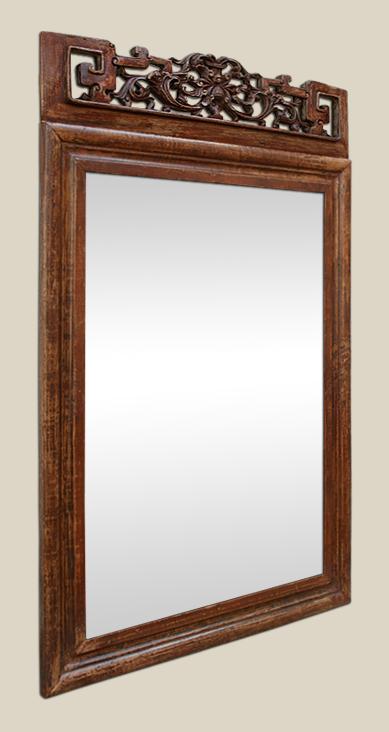 Miroir asiatique meuble de salon contemporain for Miroir exotique
