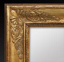 Miroir au mercure poque restauration for Restauration miroir