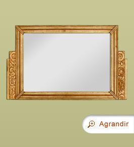 Miroir ancien miroirs anciens miroir d coration pour la maison miroir chemin e for Glace miroir moderne