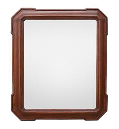 glace-miroir-ancien-bois-teinte-acajou-epoque-fin-19eme
