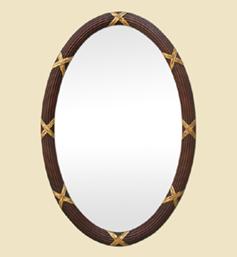 grand-miroir-ancien-ovale-sculpte-cannelure-teinte-acajou