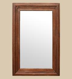 Grand miroir bois chêne massif