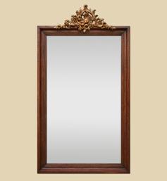 grand-miroir-bois-coquille-dore