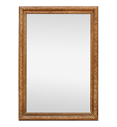 grand-miroir-bois-sculpte-main-chene-naturel-ancien