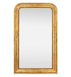 grand-miroir-cheminee-dore-19eme