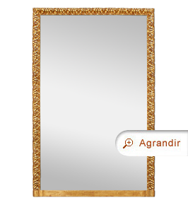 Grand miroir chemin e dor d cors style italien miroirs for Grand miroir long