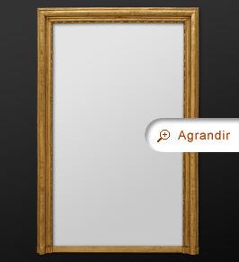 Miroir ancien miroirs anciens part 5 for Grand miroir cuivre