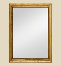 Grand miroir ancien doré dorure d'époque