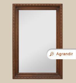 grand miroir en bois sculpt miroirs anciens. Black Bedroom Furniture Sets. Home Design Ideas