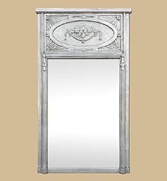 grand-miroir-trumeau-ancien-art-nouveau-argent