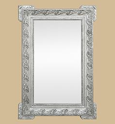 miroir-1900-argente-vieilli-decor-art-nouveau