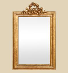 miroir-ancien-a-coquille-style-louis-xvi