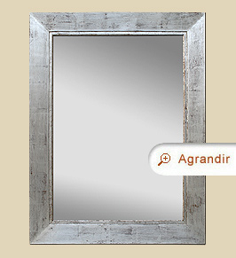 grand miroir argent patin miroirs anciens. Black Bedroom Furniture Sets. Home Design Ideas
