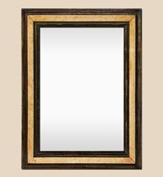 miroir-ancien-bois-beige-et-marron-clair