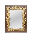 miroir-ancien-bois-chene-sculpte-dore-vi