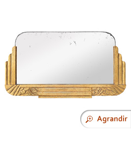 miroir-ancien-bois-dore-patine-decor-style-art-deco-circa-1940
