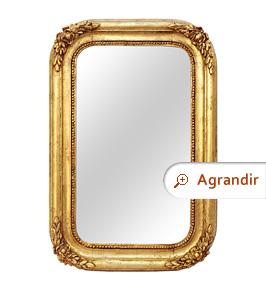 miroir-ancien-bois-dore-romantique-1830