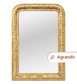 miroir-ancien-bois-dore-style-Louis-Philippe-1900