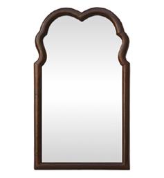 miroir-ancien-bois-forme-chantournee