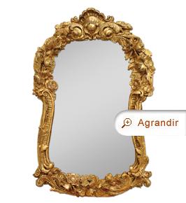 miroir-ancien-bois-sculpte-dore-19eme