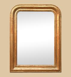 miroir-ancien-dore-cuivre-louis-philippe