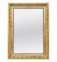 miroir-ancien-dore-decor-vignes