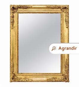 miroir-ancien-dore-style-romantique-circa-1840