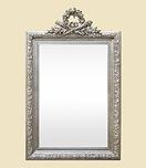 miroir-ancien-fronton-argente-vi