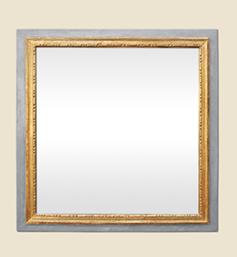 miroir-ancien-louis-xvi-bois-dore-boiserie-grise