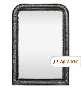 miroir-ancien-style-louis-philippe-noir-et-argent-patine