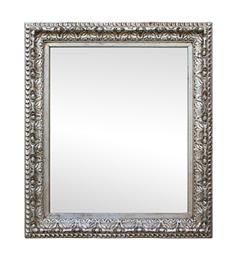 miroir-argente-ancien-annees-30-decor-volutes-feuilles-acanthe