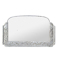 miroir-argente-ancien-style-art-deco